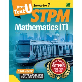 Teks PRA-U STPM Semester 1 Mathematics T (Edisi 2022)
