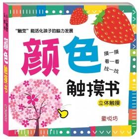 小小感官认知书:颜色触摸书