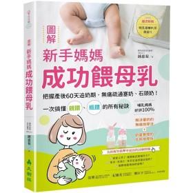 圖解新手媽媽成功餵母乳:把握產後60天追奶期,無痛疏通塞奶、石頭奶!一次搞懂親餵、瓶餵的所有秘訣(隨書附贈吸乳器喇叭罩測量尺)