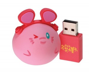 笑笑力量大U盘 USB(16GB)