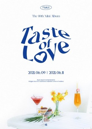 TWICE - 10th Mini Album: Taste of Love (In Love - Red Ver.)