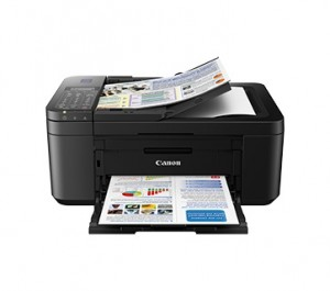 CANON INK EFFICIENT E4270 WIRELESS PRINTER with FAX