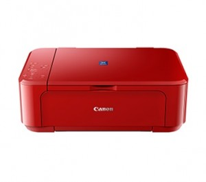 CANON INK EFFICIENT E560 WIRELESS PRINTER RED