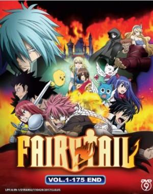 FAIRY TAIL VOL. 1 - 175 END  (7DVD)