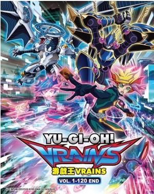 YU GI OH! 游戏王 VRAINS V1-120END (10DVD)