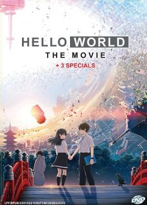 HELLO WORLD THE MOVIE+ 3 SPECIALS (DVD)