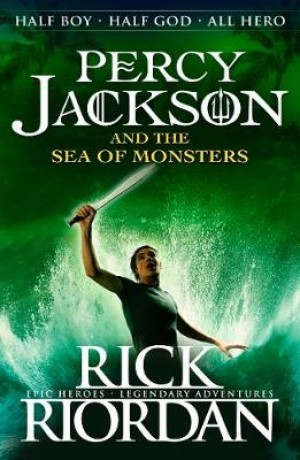 Percy Jackson and the Sea of Monsters (Book 2)