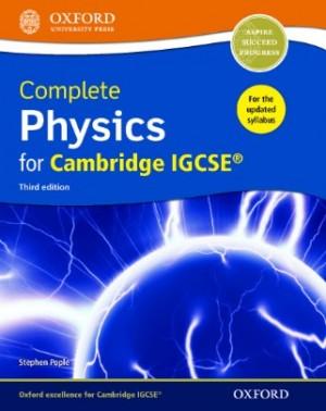 Cambridge IGCSE(R) Complete Physics Student Book 3rd Edition