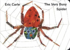 THE VERY BUSY SPIDER BORAD BOOK