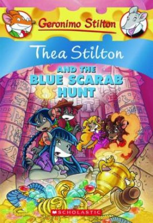 TS 11: THEA STILTON AND THE BLUE SCARAB HUNT