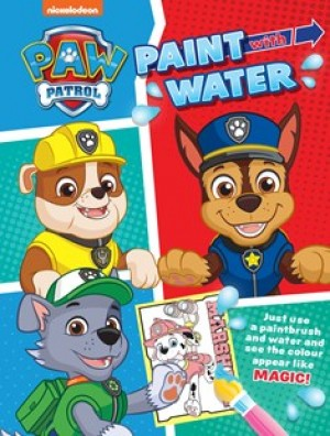 Paint with Water: PAW Patrol
