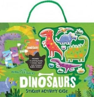 DinosaurBubble Sticker Activity Case