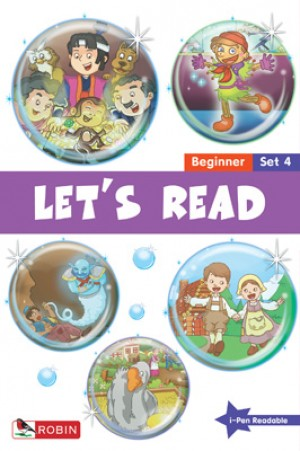 LET'S READ-BEGINNER SET 4 (BK16-20) 2ND