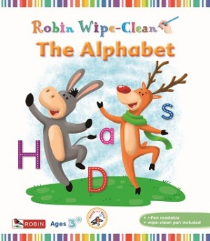 ROBIN WIPECLEAN: THE ALPHABET