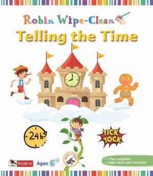 ROBIN WIPECLEAN: TELLING THE TIME