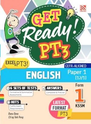 TINGKATAN 1 GET READY! PT3 ENGLISH(PAPER 1)
