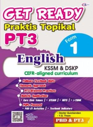 TINGKATAN 1 GET READY PRAKTIS TOPIKAL PT3 ENGLISH
