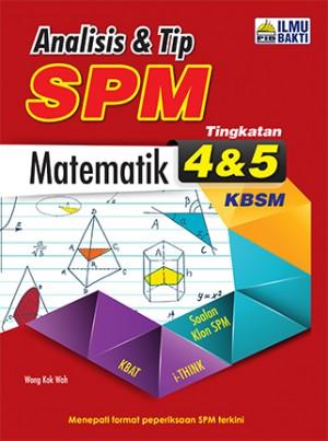 Tingkatan 4 & 5 Analisis Tip SPM Matematik