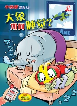 小伙伴33-大象如何睡觉?