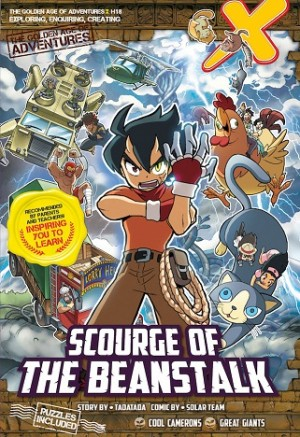 X-VENTURE THE GOLDEN AGE OF ADVENTURES 18: SCOURGE OF THE BEANSTALK