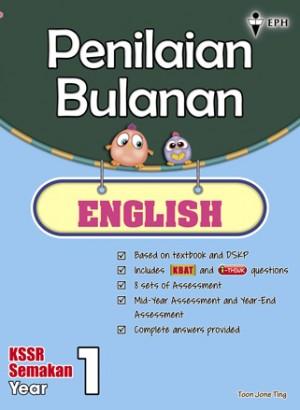 Primary 1 Penilaian Bulanan English