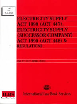 ELECTRICITY SUPPLY ACT 1990 (15 APR 2019)