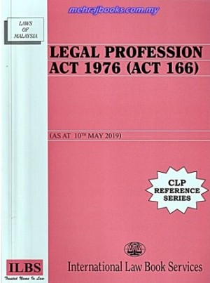 LEGAL PROFESSION ACT 1976 (10 MAY 2019)