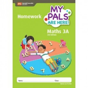 Book 3A My Pals Are Here Maths Homework (3rd Edition)