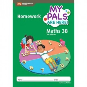 Book 3B My Pals Are Here Maths Homework (3rd Edition)