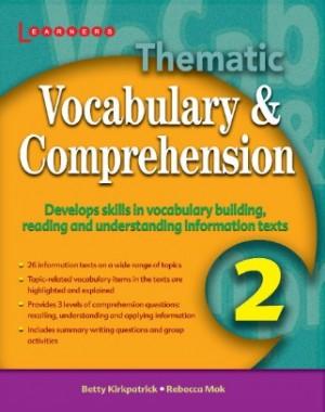 Book 2 Thematic Vocabulary & Comprehension