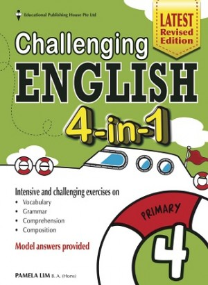 Primary 4 Challenging English 4-In- 1