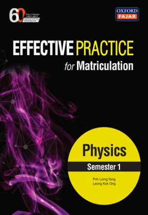 Semester 1 Effective Practice for Matriculation Physics