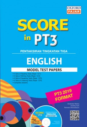 SCORE IN PT3 MOD TEST PP ENG '19