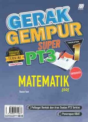 TINGKATAN 1 GERAK GEMPUR SUPER PT3 MATEMATIK(BILINGUAL)
