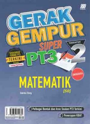 TINGKATAN 2 GERAK GEMPUR SUPER PT3 MATEMATIK(BILINGUAL)