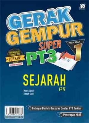 TINGKATAN 1 GERAK GEMPUR SUPER PT3 SEJARAH