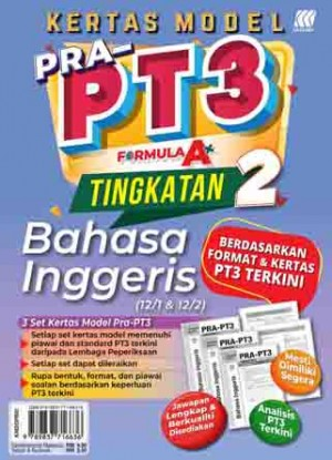 TINGKATAN 2 KERTAS MODEL PRA-PT3 FORMULA A+ ENGLISH