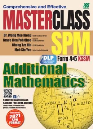 MASTERCLASS SPM ADDITIONAL MATHEMATICS