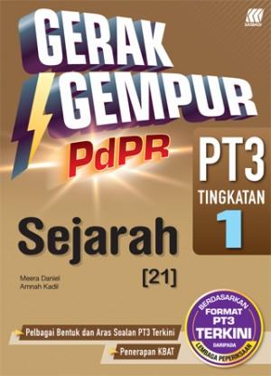 TINGKATAN 1 GERAK GEMPUR PDPR PT3 SEJARAH