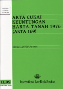 Akta Cukai Keuntungan Harta Tanah 1976