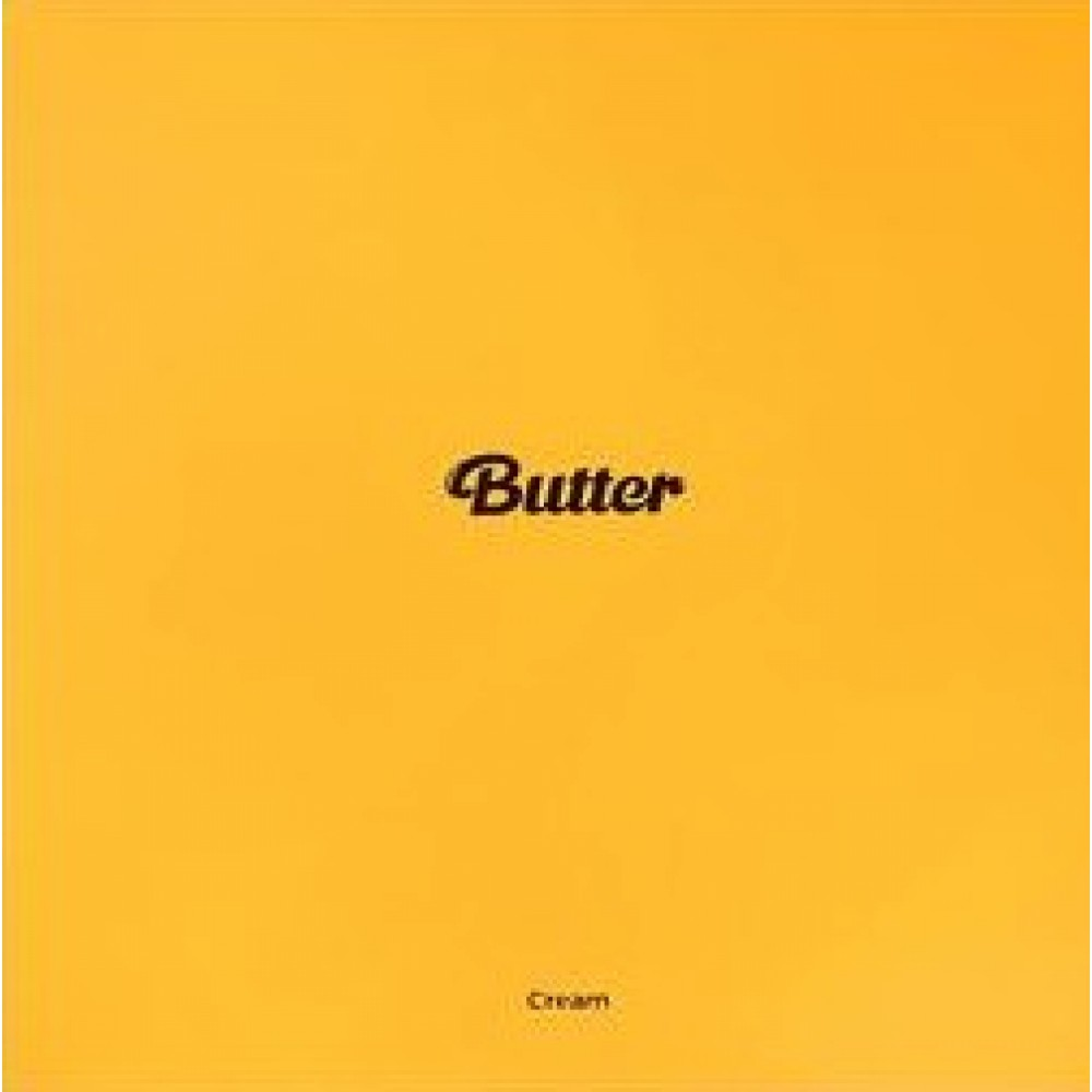 BTS - SINGLE: BUTTER (CREAM VER.-YELLOW)
