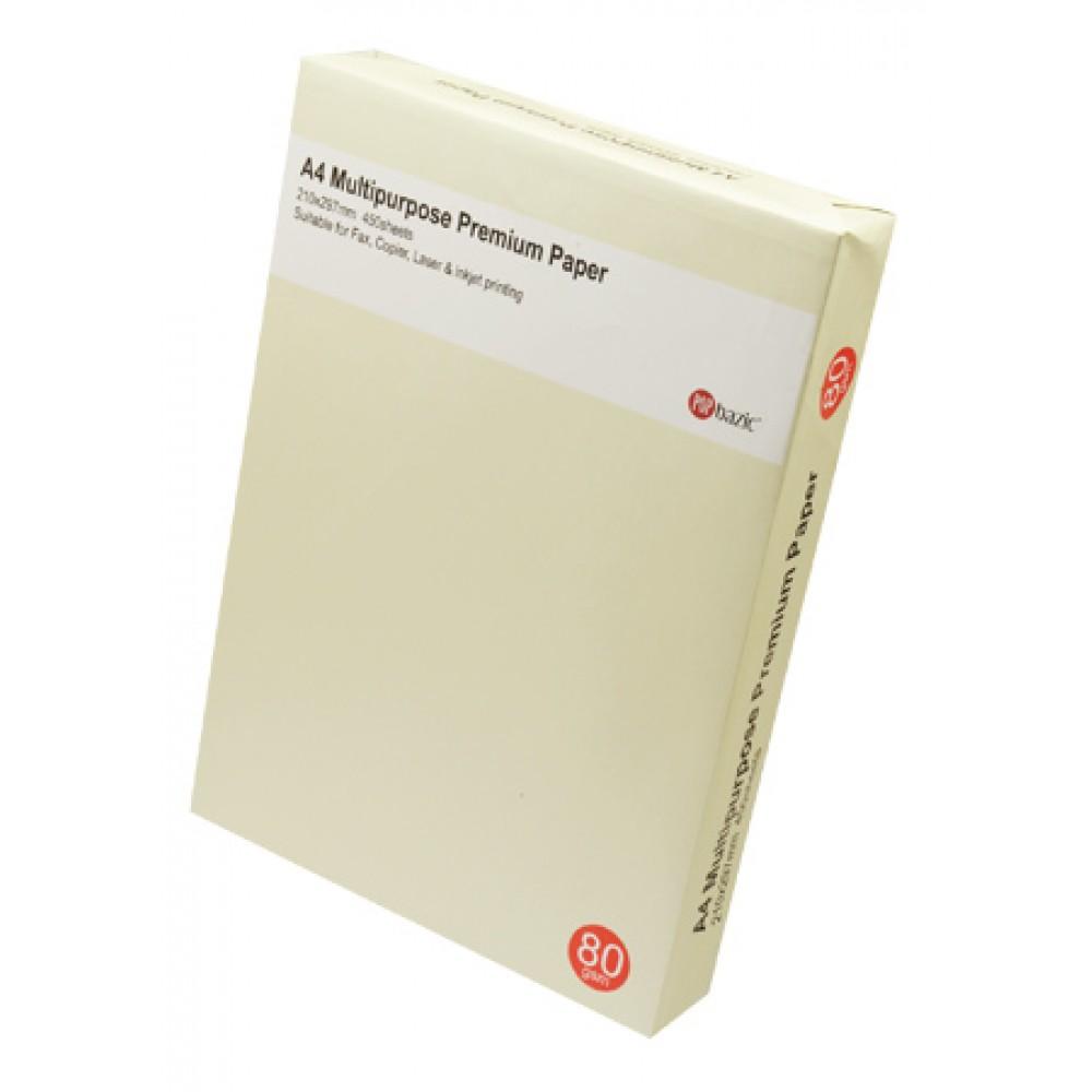 POP BAZIC COPIER PAPER A4 80GSM 450'S