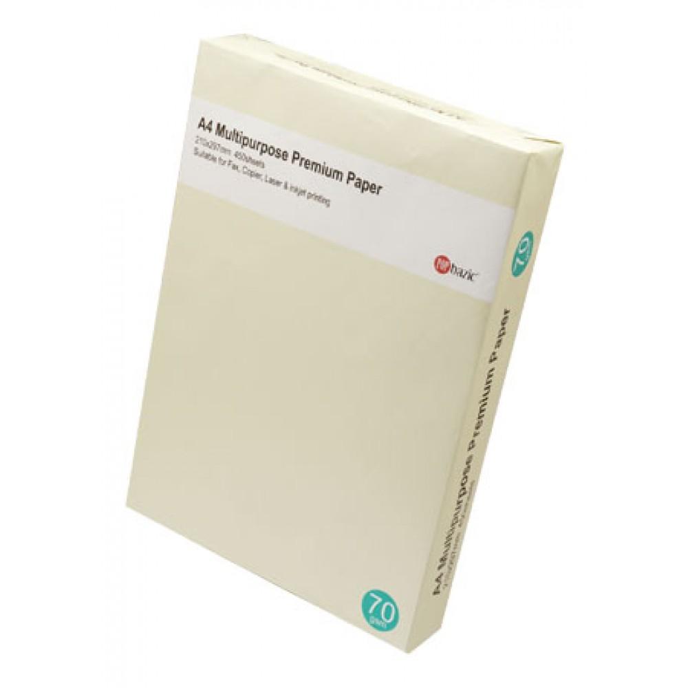 POP BAZIC COPIER PAPER A4 70GSM 450'S