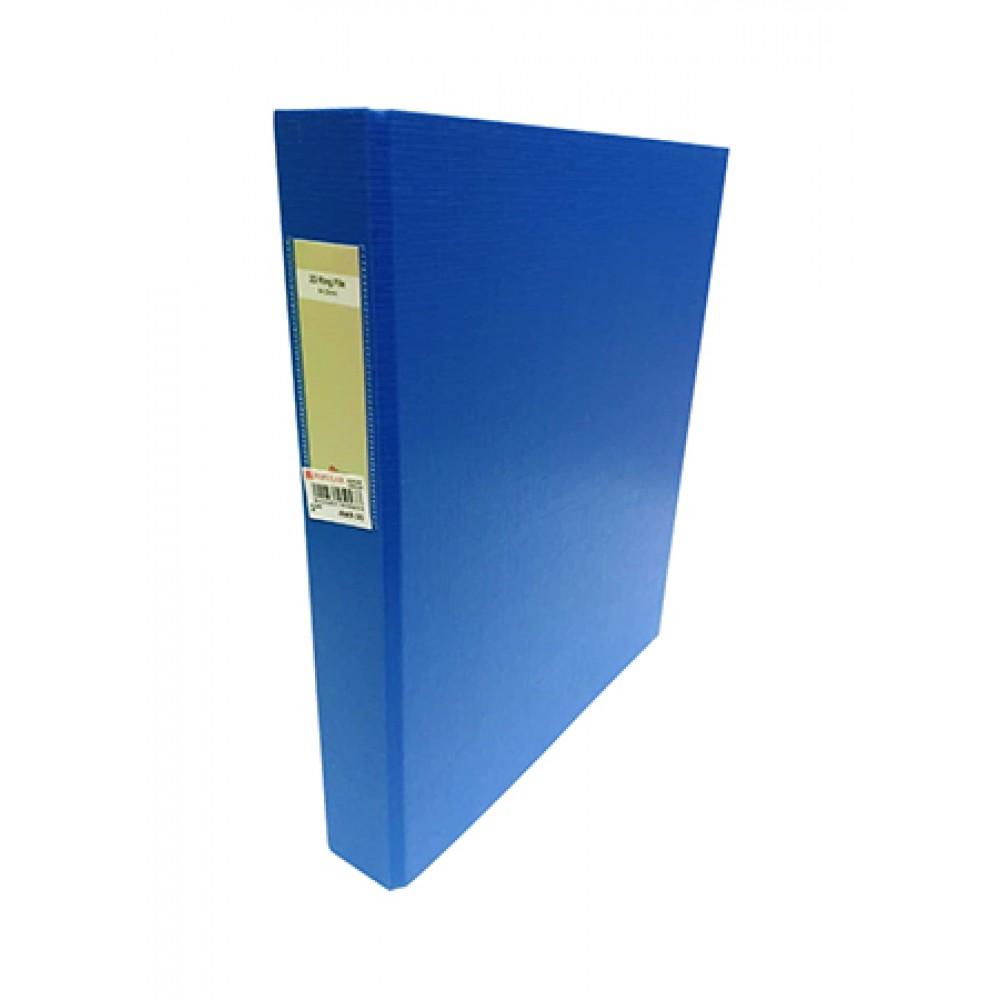 POP BAZIC PP 2D RING FILE A4 25MM BLUE