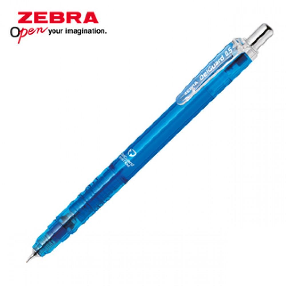 ZEBRA DELGUARD LIGHT MECHANICAL PENCIL 0.5MM CLEAR BLUE