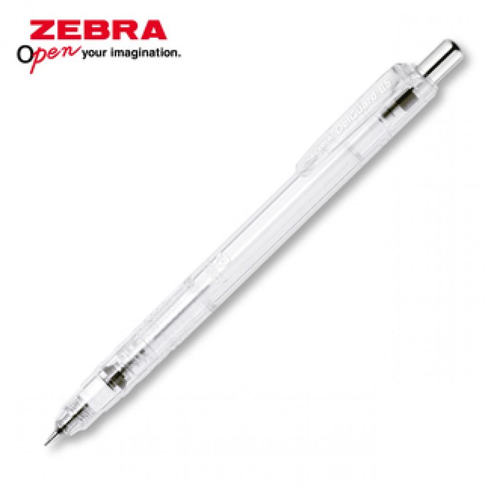 ZEBRA DELGUARD LIGHT MECHANICAL PENCIL 0.5MM CLEAR