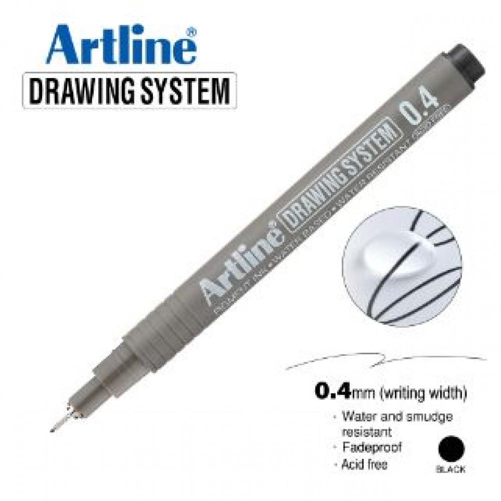 ARTLINE EK234 DRAWING SYSTEM 0.4MM BLACK