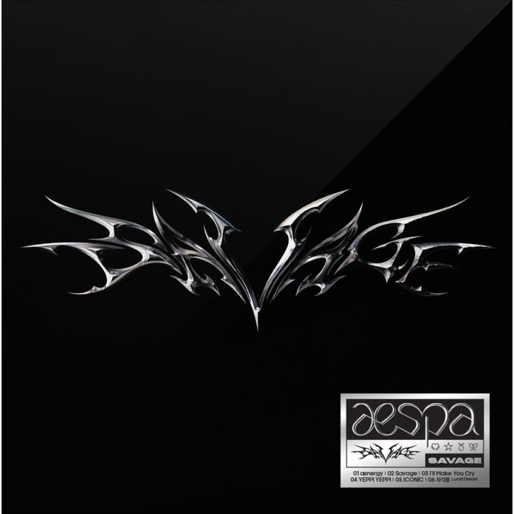 AESPA - 1ST MNI ALBUM : SAVAGE (SYNK DIVE VER.)