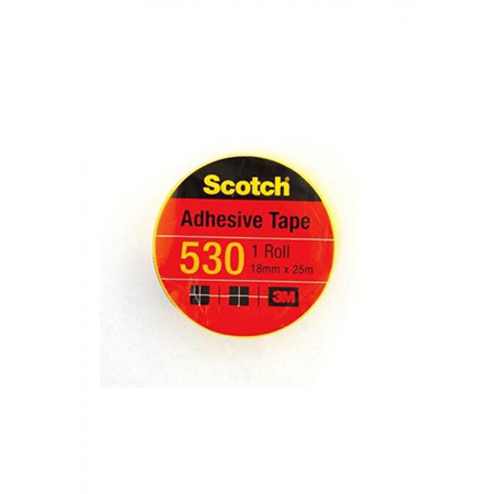 SCOTCH 530 ADHESIVE TAPE 18MMX25M