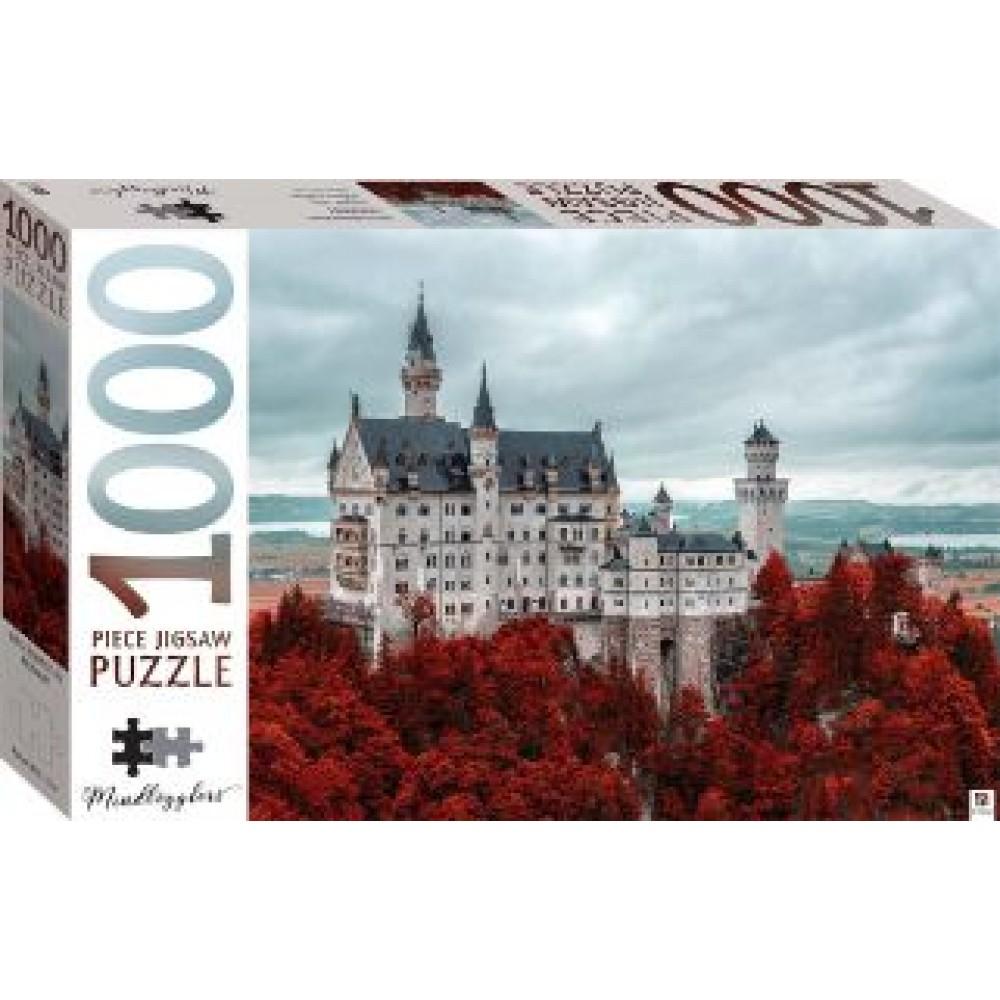 HINKLER JIGSAW PUZZLE NEUSCHWANSTEIN CASTLE GERMANY 1000PCS
